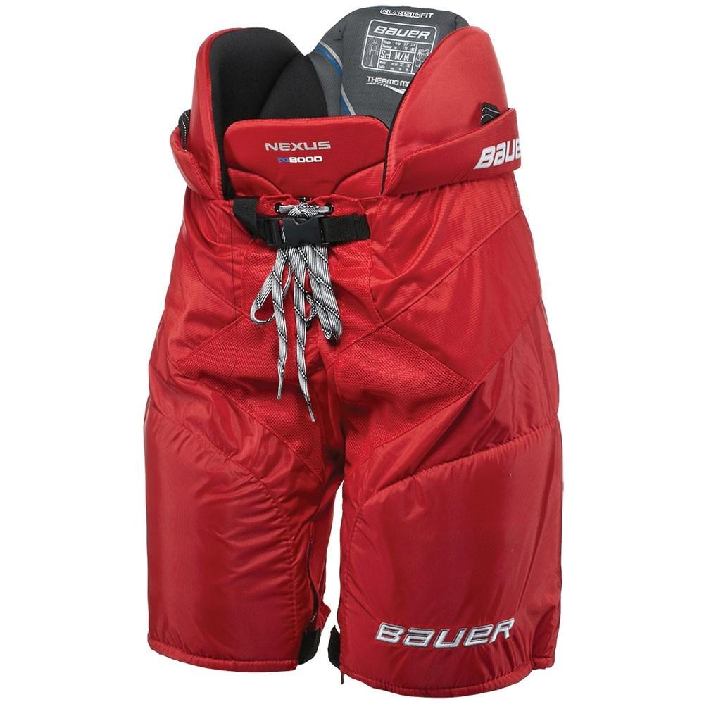 Bauer Nexus N8000 Hockeybukse Rød