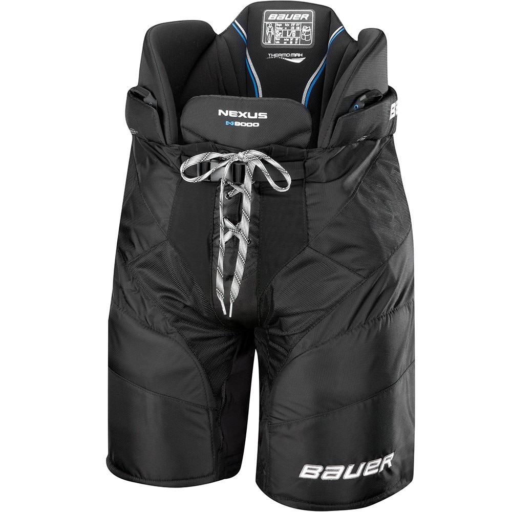 Bauer Nexus N9000 Junior Hockeybukse Svart