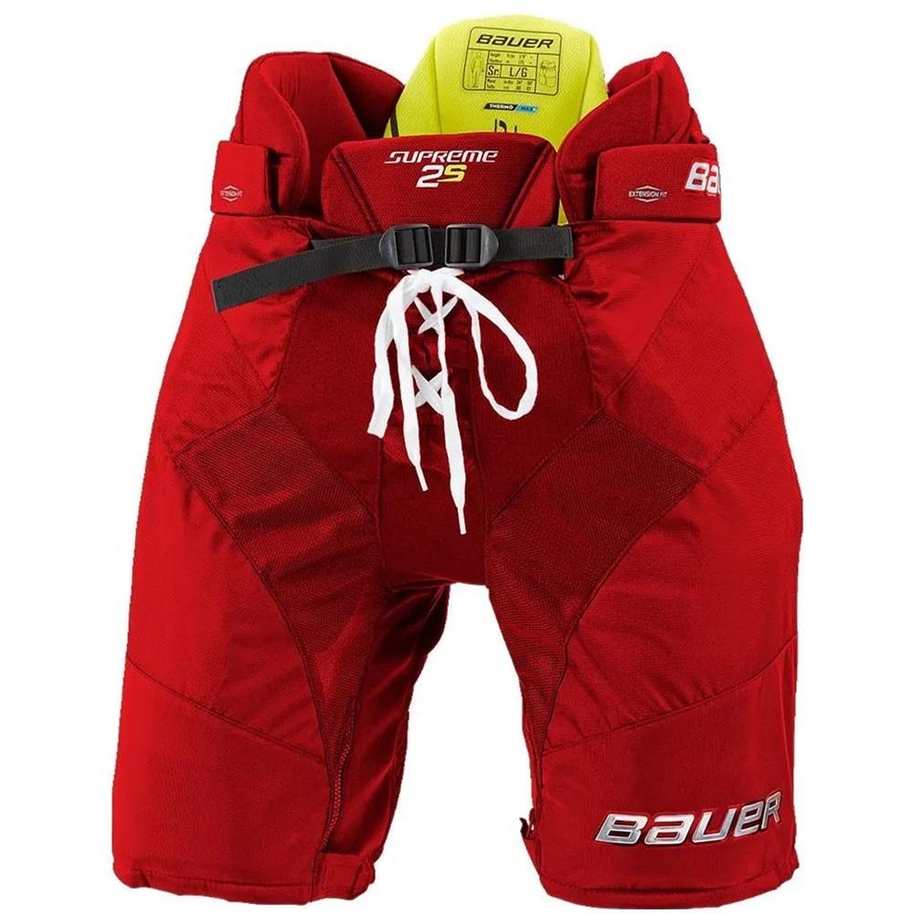 Bauer Supreme 2S Hockeybukse Rød