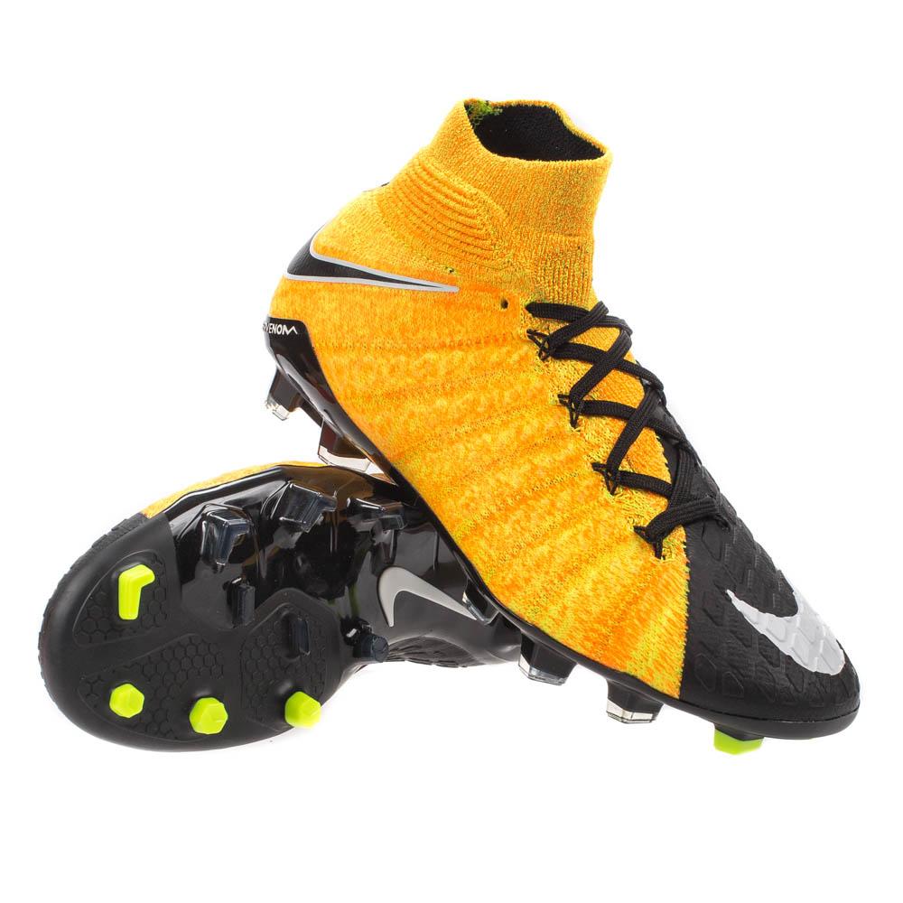 Nike Hypervenom Phantom 3 DF FG Fotballsko Barn Oransje/Sort