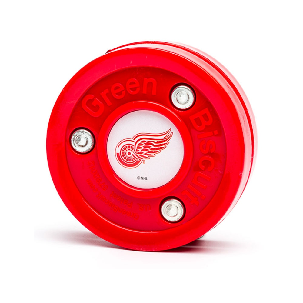 Green Biscuit Teknikk Puck Detroit Red Wings