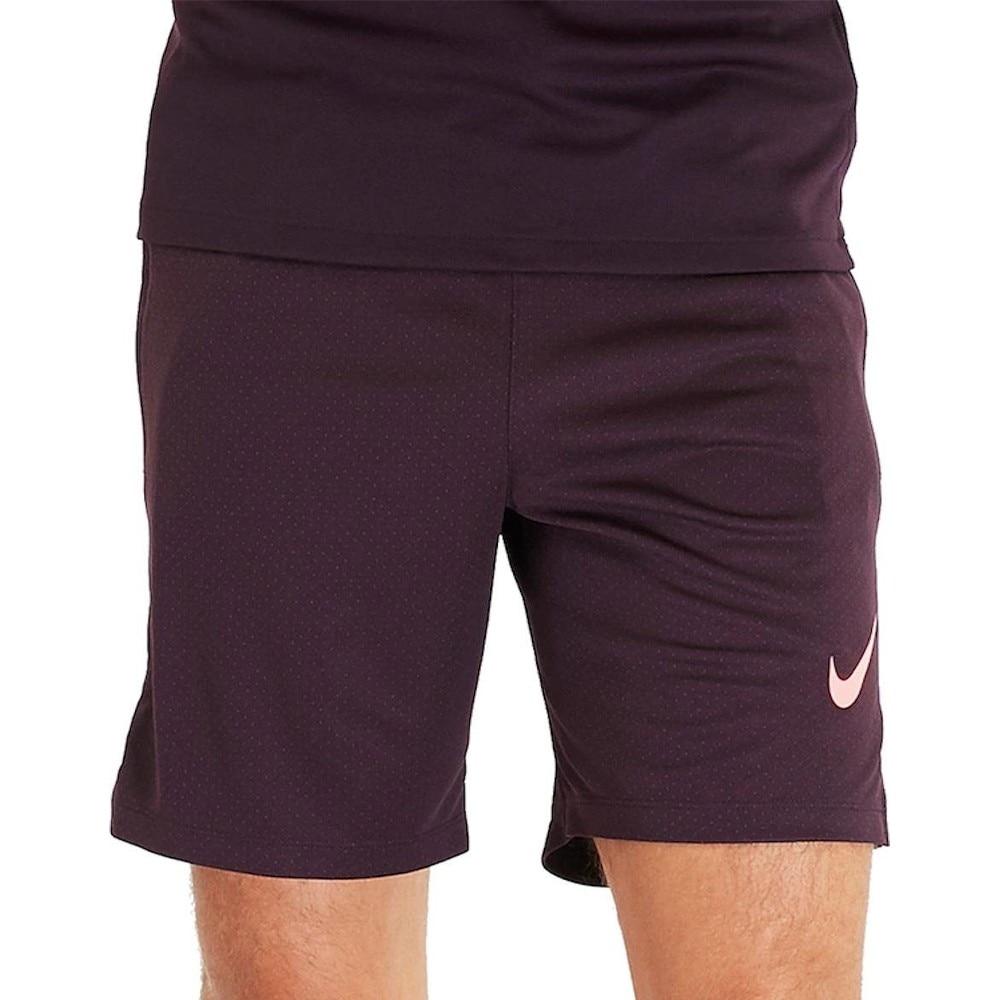 Nike Dry Strike Fotballshorts Barn Burgunder