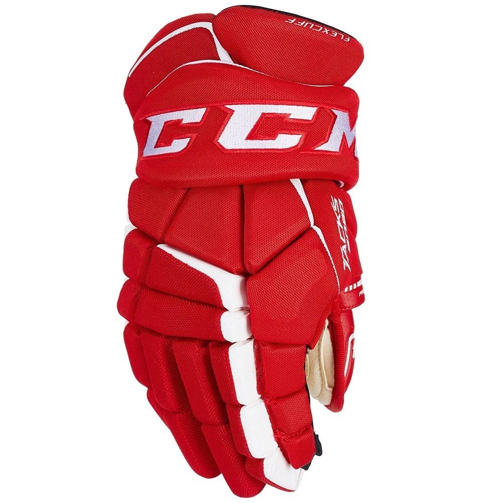 Ccm Super Tacks AS1 Junior Hockeyhanske Rød