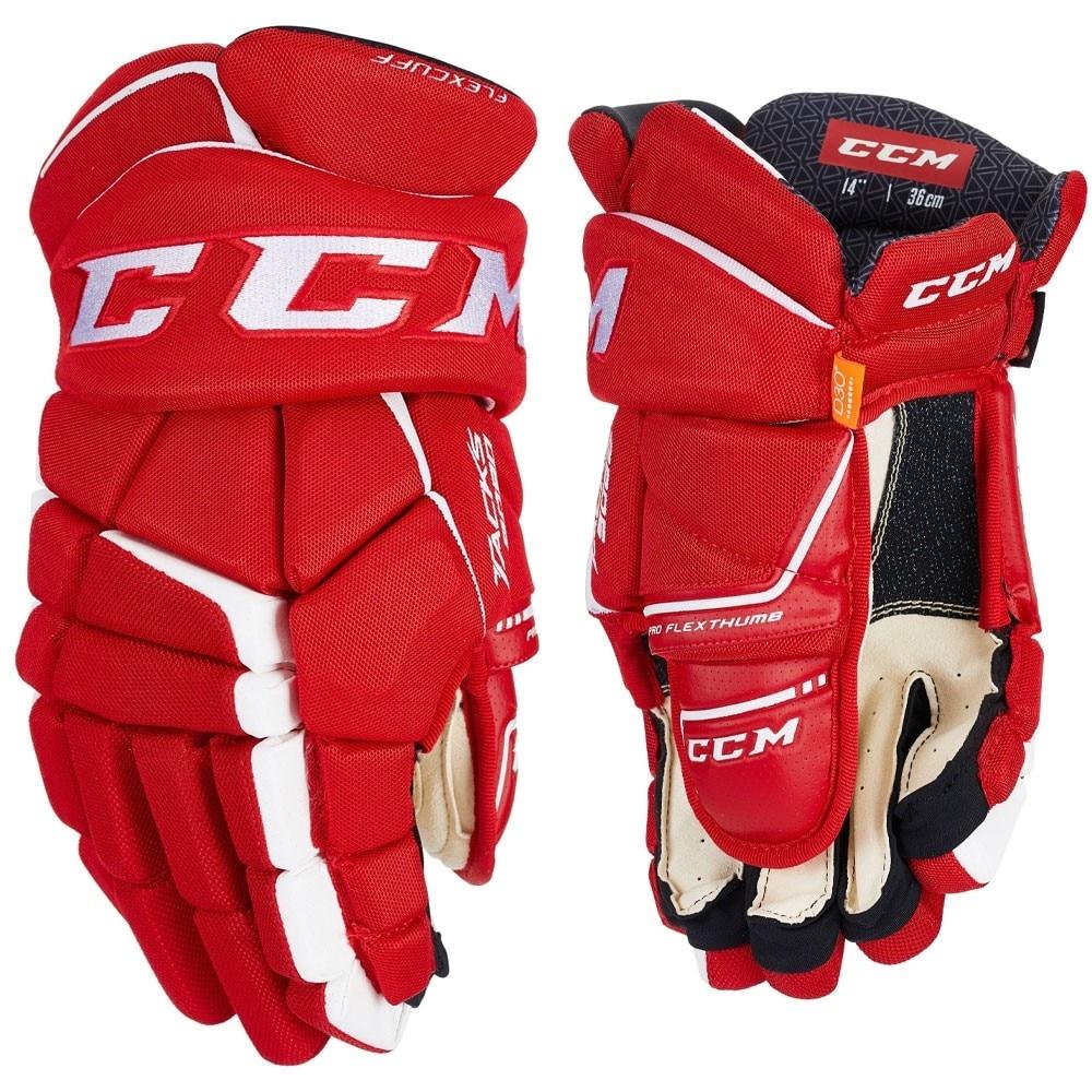 Ccm Tacks 9080 Junior Hockeyhanske Rød