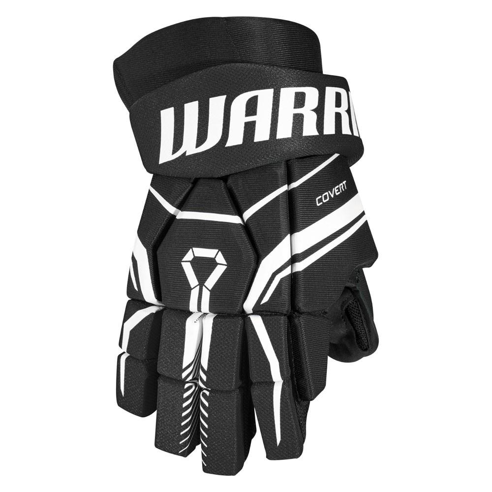 Warrior Covert QRE 40 Junior Hockeyhanske Svart