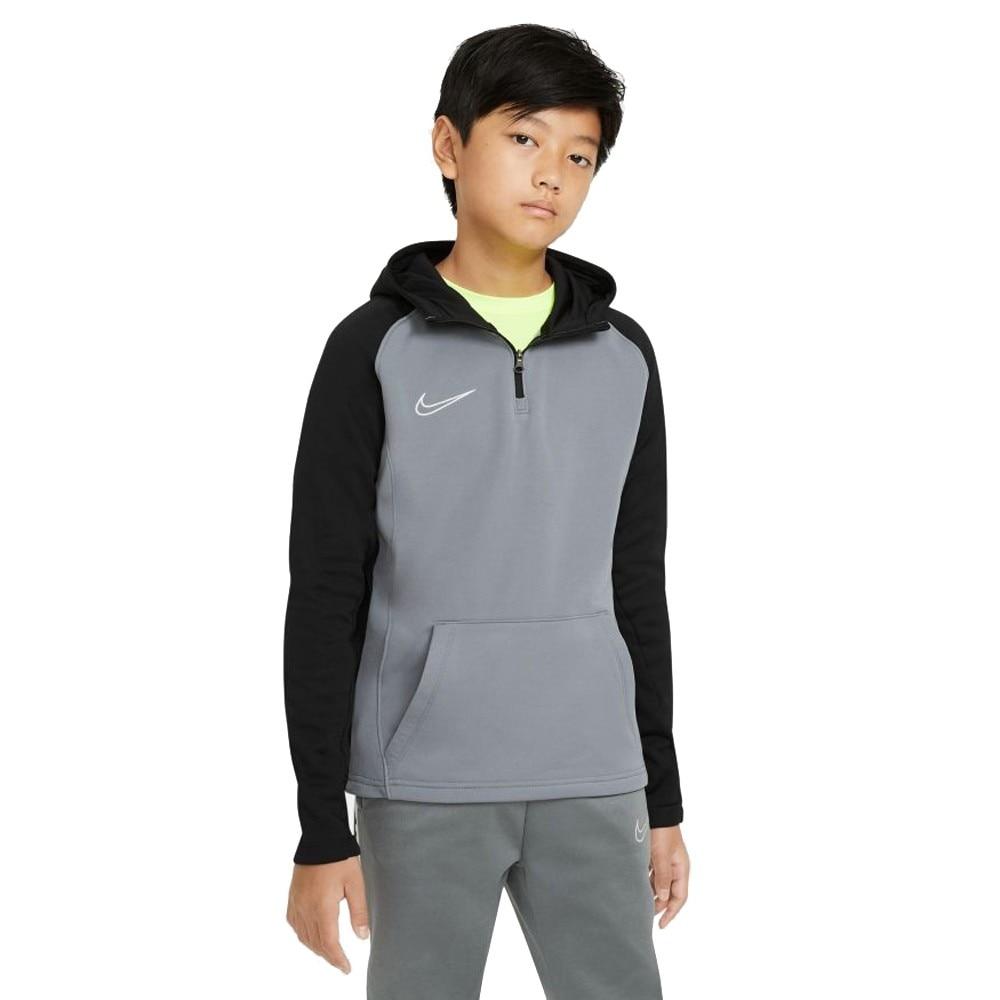 Nike Dry Academy Drill Hoodie Hettegenser Barn Grå
