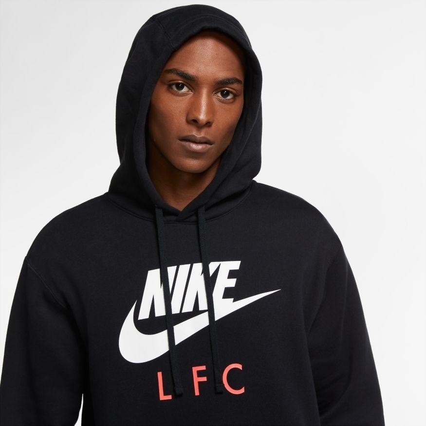 Nike Liverpool FC Fleece Hettegenser CL 20/21