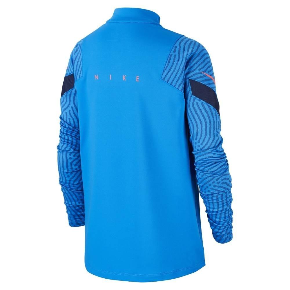 Nike Dry Strike Drill Fotballgenser Barn Blå