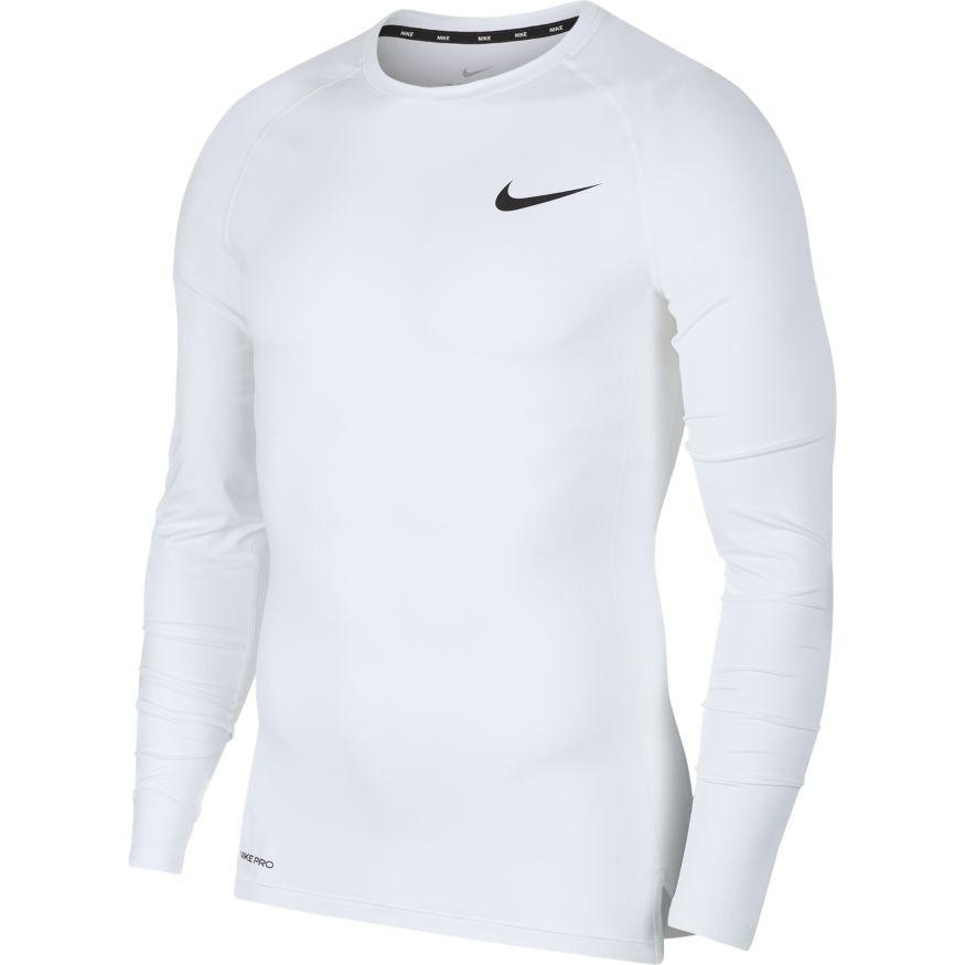 Nike Pro Langermet Compression Baselayer Top Hvit