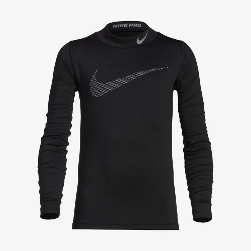 Nike Pro Warm Compression Langermet Mock Barn