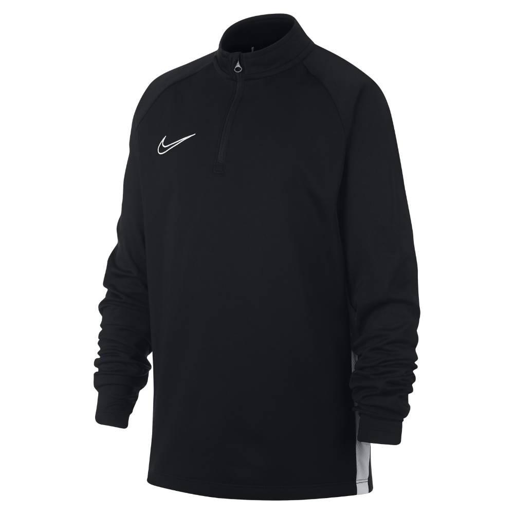 Nike Academy Dry Drill Top Fotballgenser Barn Sort