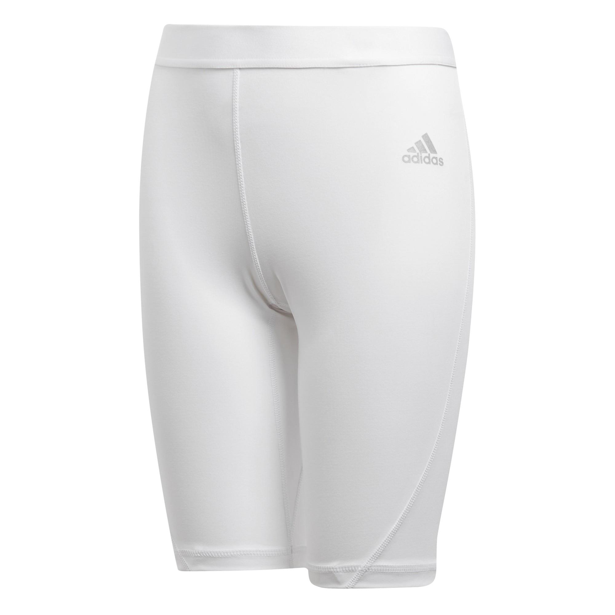 Adidas Alphaskin Sport Short Tights Barn Hvit