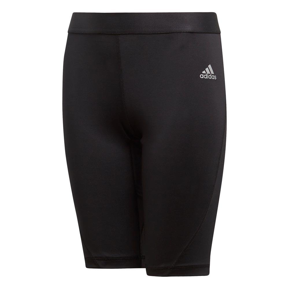 Adidas Alphaskin Sport Short Tights Barn Sort