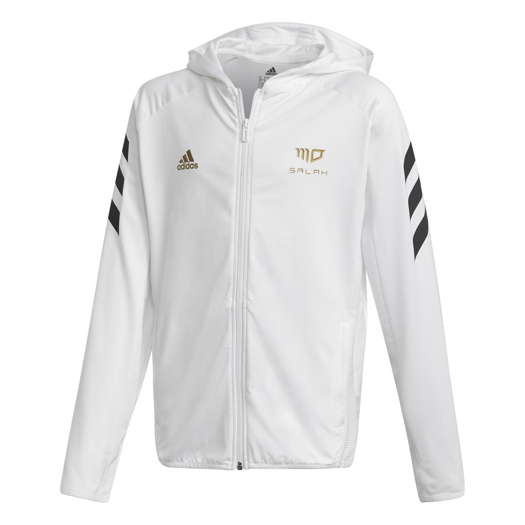 Adidas Salah Football-Inspired FullZip Hettegenser Barn