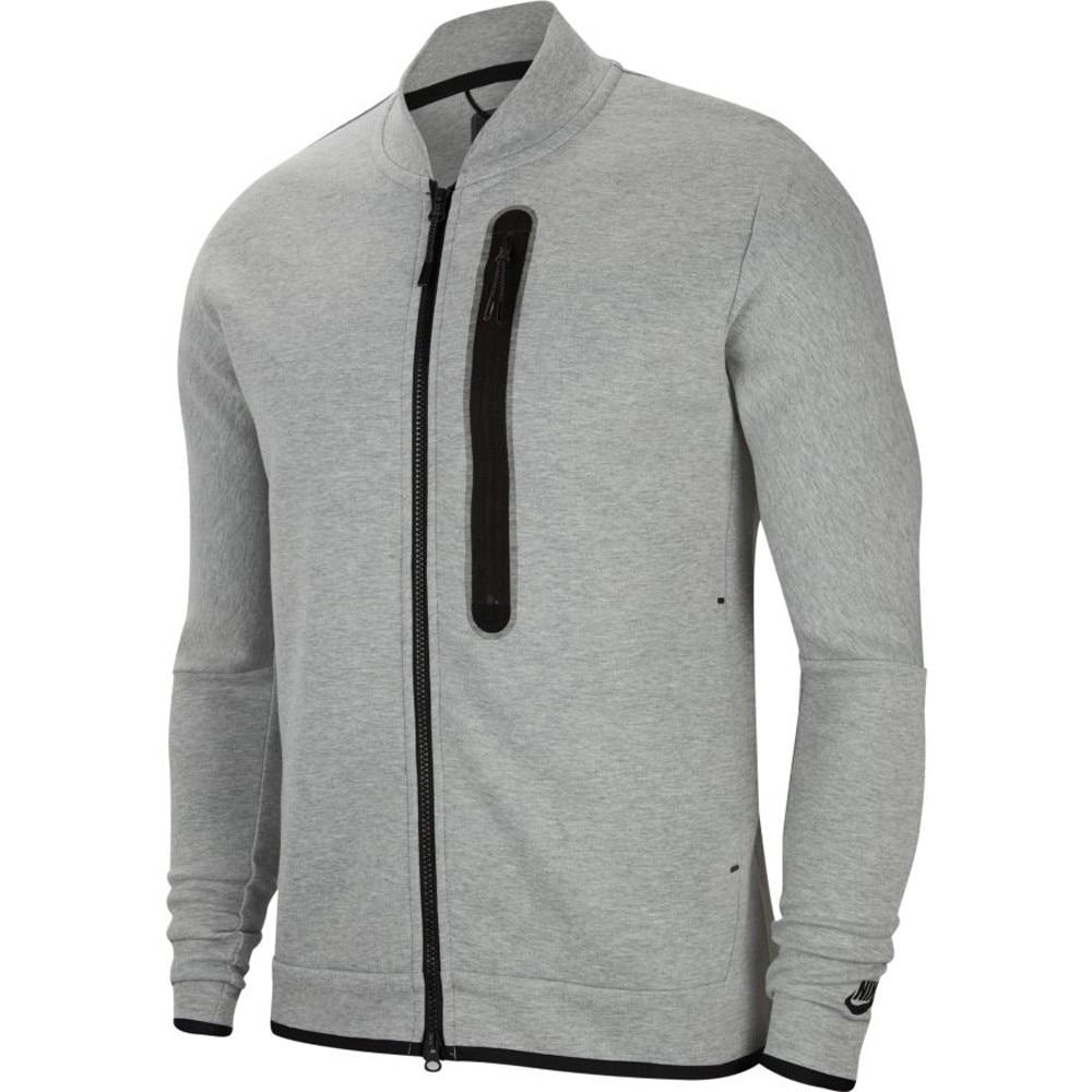 Nike Tech Fleece Bomber Fritidsjakke Grå