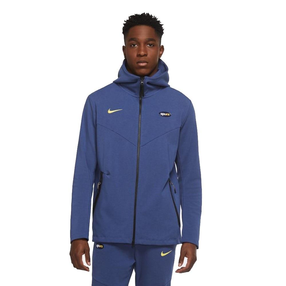 Nike Tottenham Tech Pack Hoodie Hettegenser 20/21 Marine