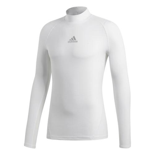 Adidas Alphaskin Climawarm Langermet Trøye Hvit