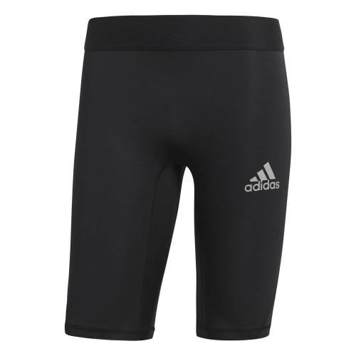 Adidas Alphaskin Sport Short Tights Sort