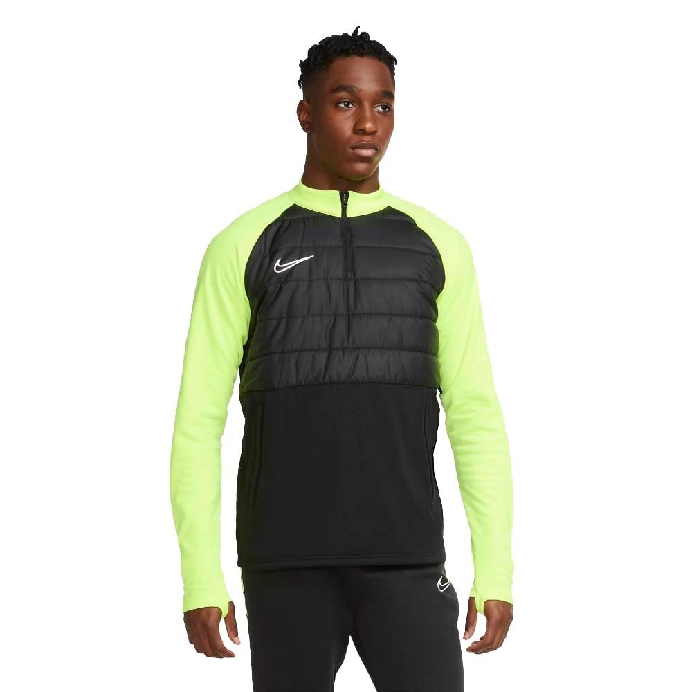 Nike Dry Academy Padded Fotballgenser Sort/Volt