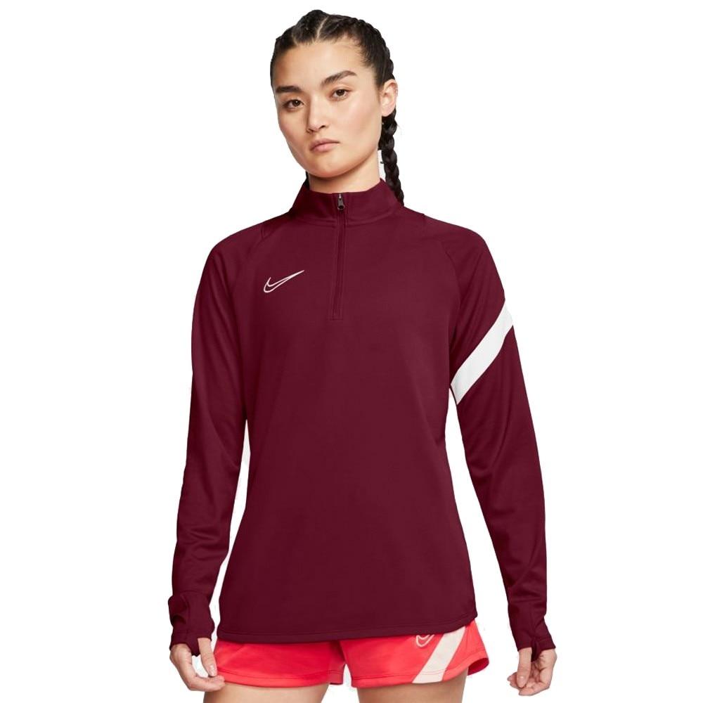 Nike Dry Academy Fotballgenser Dame Burgunder