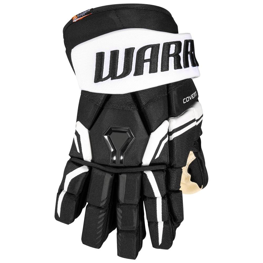 Warrior Covert QRE 20 PRO Hockeyhanske Svart/Hvit