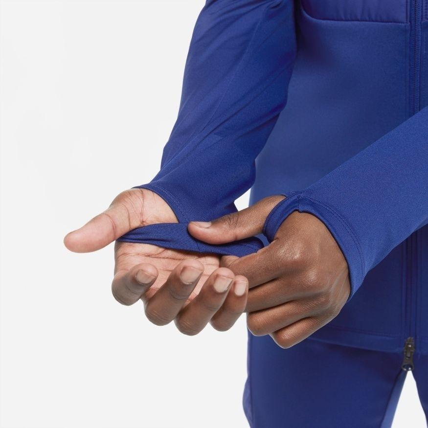 Nike Therma Padded Strike Fotballjakke Blå