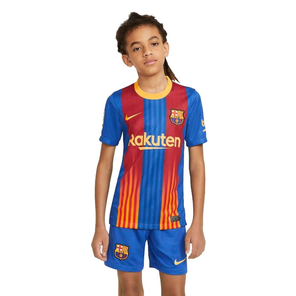 Nike FC Barcelona Stadium Fotballdrakt 20/21 Barn El Classico
