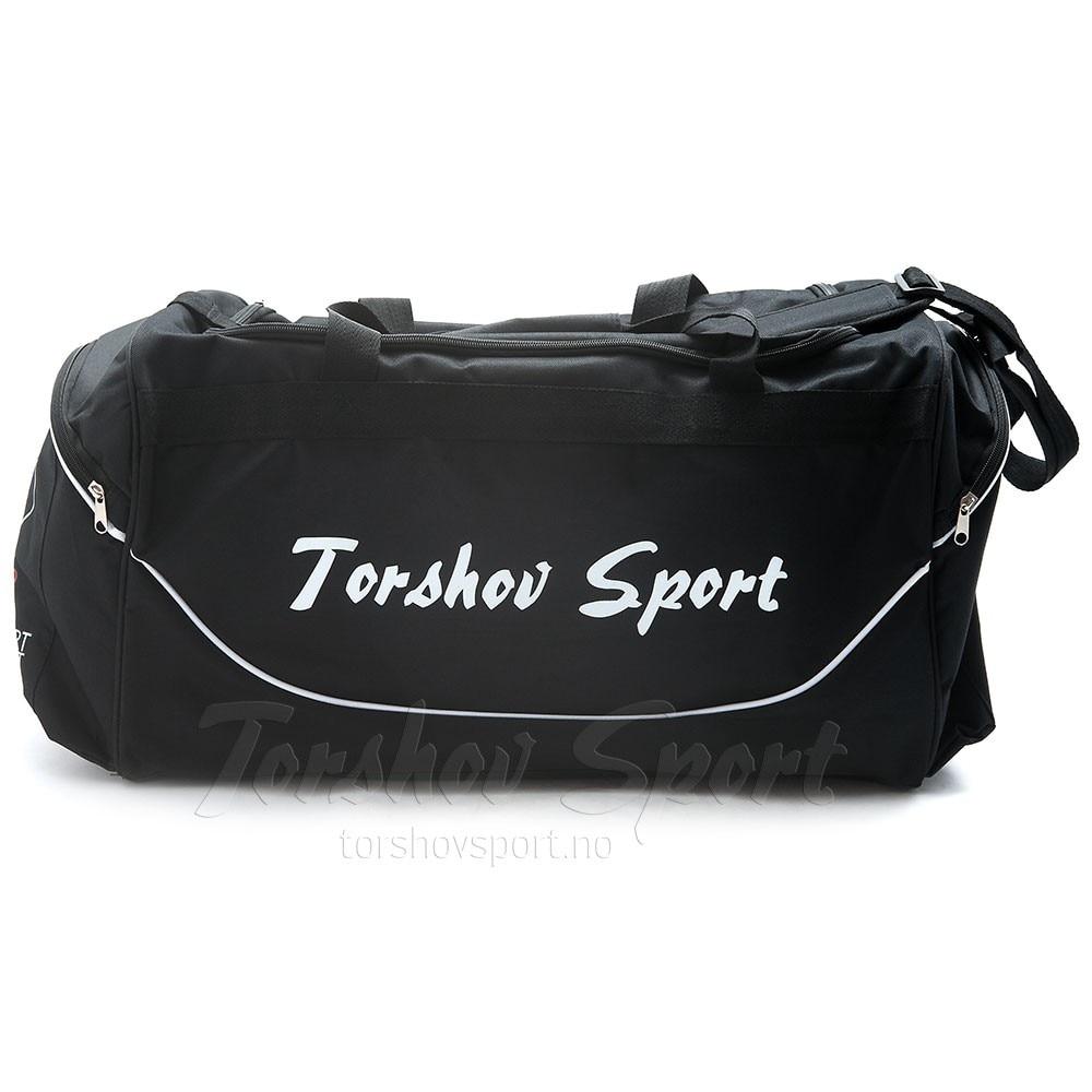 Sport Direkt Team Fotballbag Sort