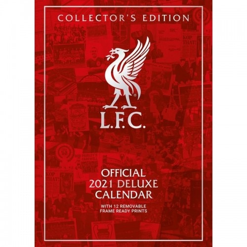 Official Product Liverpool FC Kalender 2021 Deluxe A3