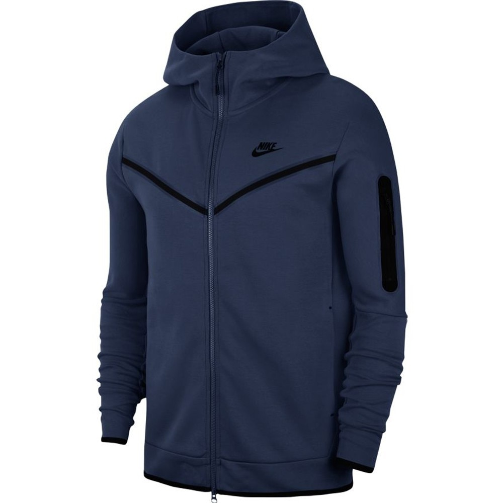 Nike Tech Fleece FullZip Hettegenser Marine