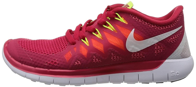 Nike Free 5.0 Joggesko Dame Rød