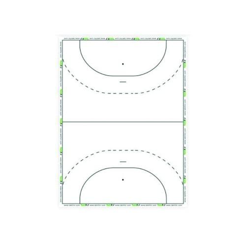 Sport Direkt Taktikktavle Klisterrull Håndball 25 stk