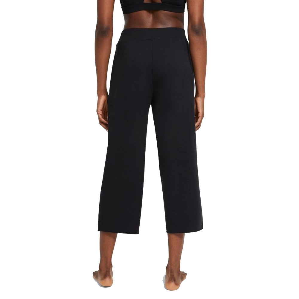 Nike Yoga Luxe Cropped Fleece Treningsbukse Dame