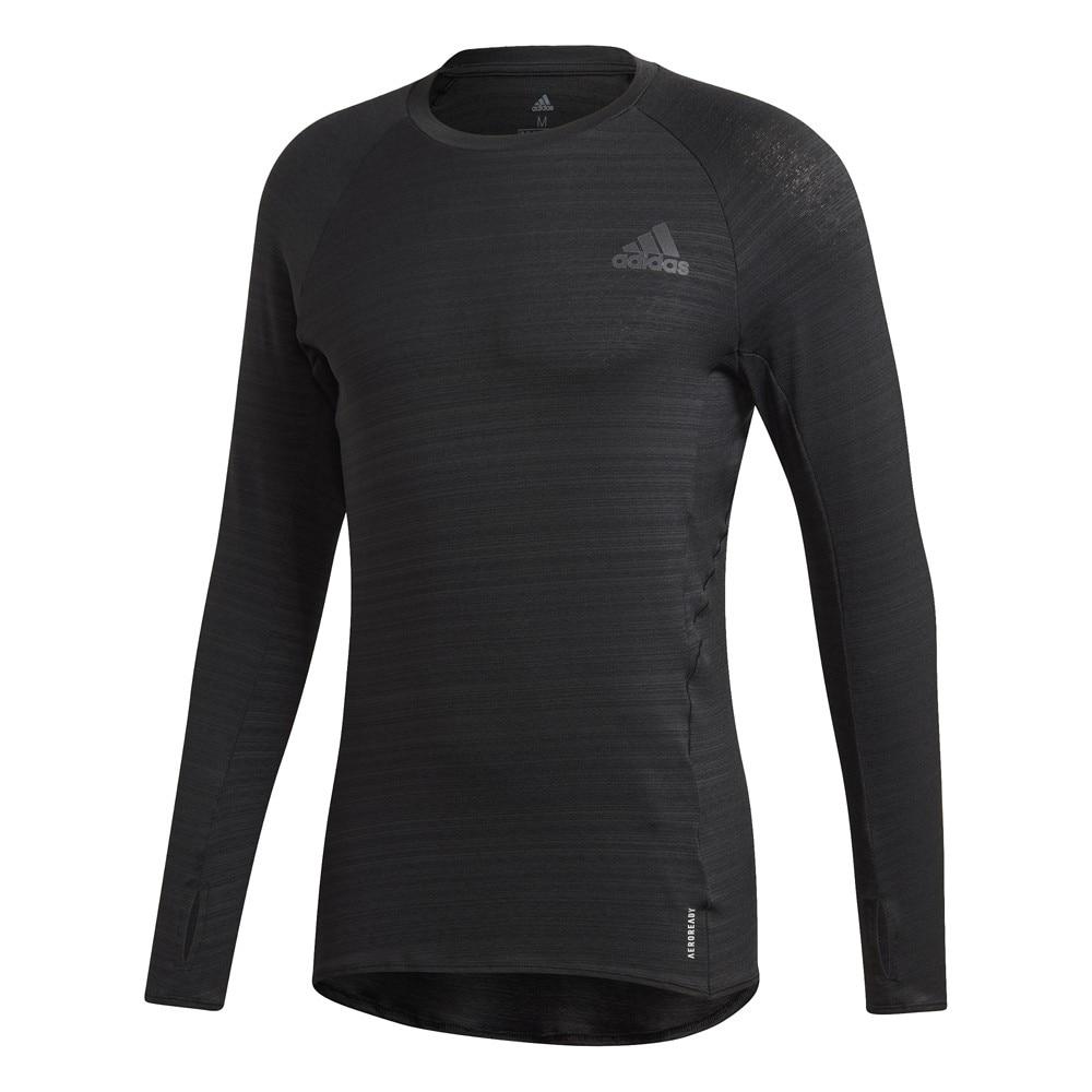 Adidas Runner Langermet Løpetrøye Herre Sort