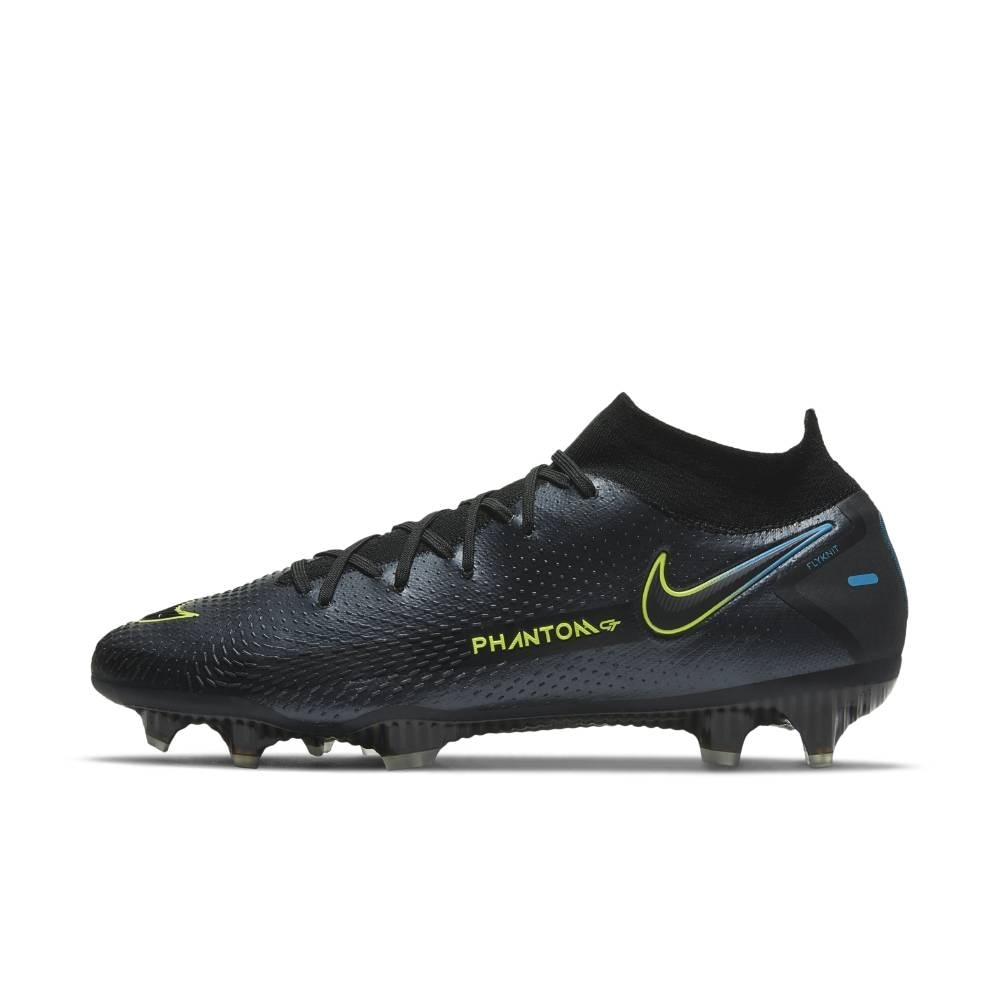 Nike Phantom GT Elite DF FG Fotballsko Black x Prism Pack