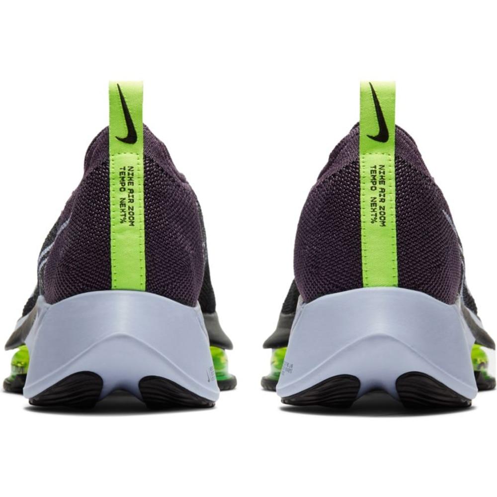 Nike Air Zoom Tempo Next% Flyknit Joggesko Dame Dark Raisin