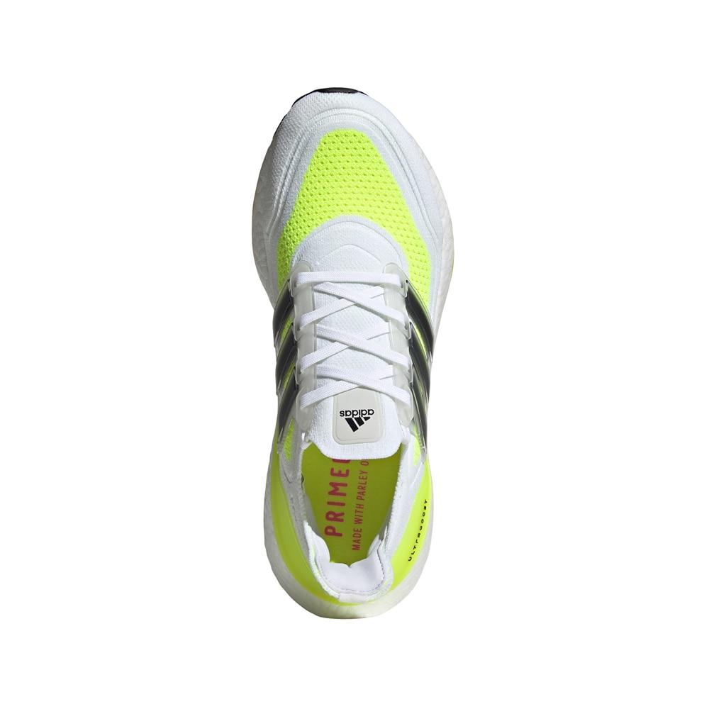 Adidas UltraBoost 21 Joggesko Herre Hvit/Gul