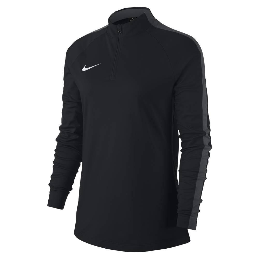 Nike Academy 18 Drill Top Fotballgenser Dame Sort