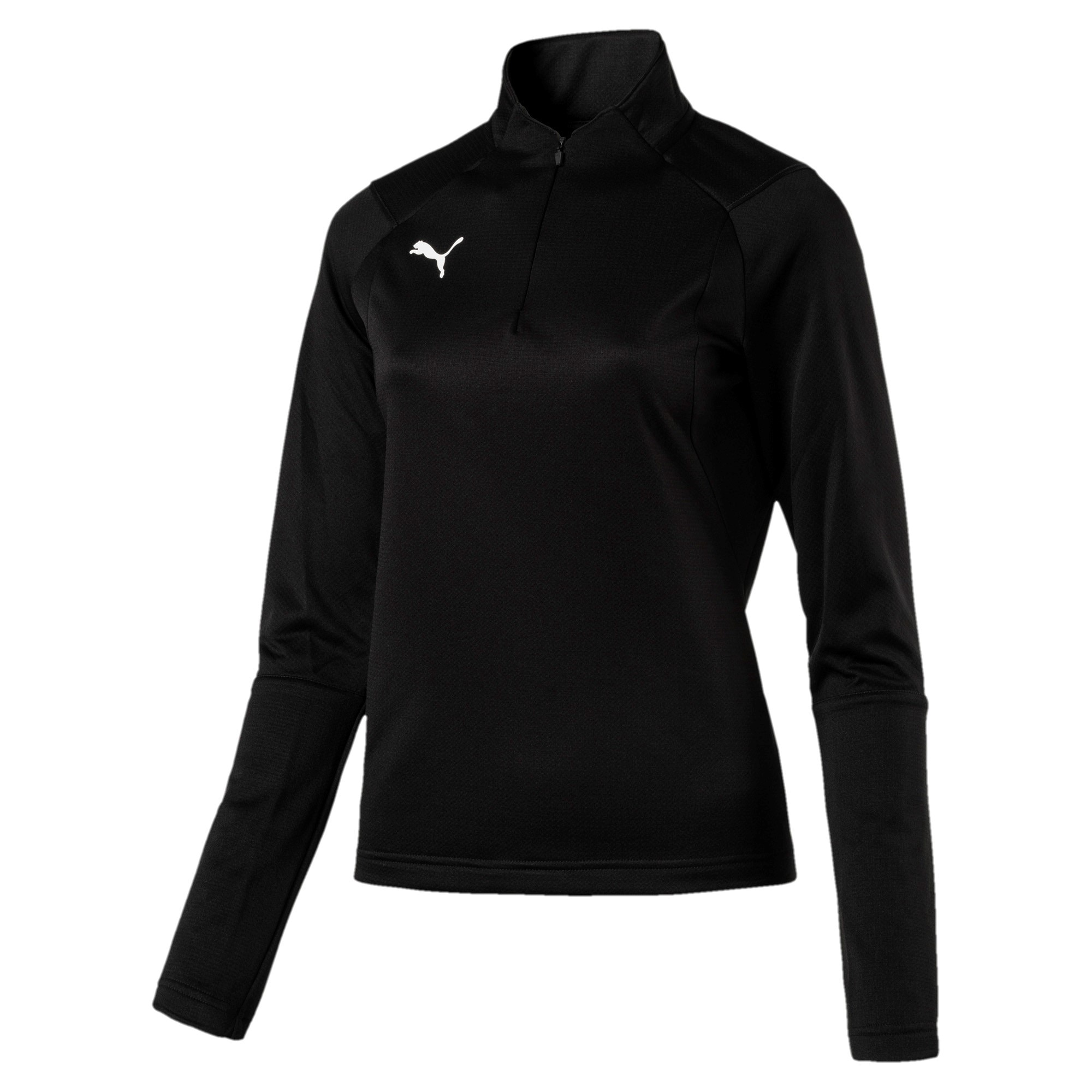 Puma Liga Training 1/4 Zip Treningsgenser Dame Sort