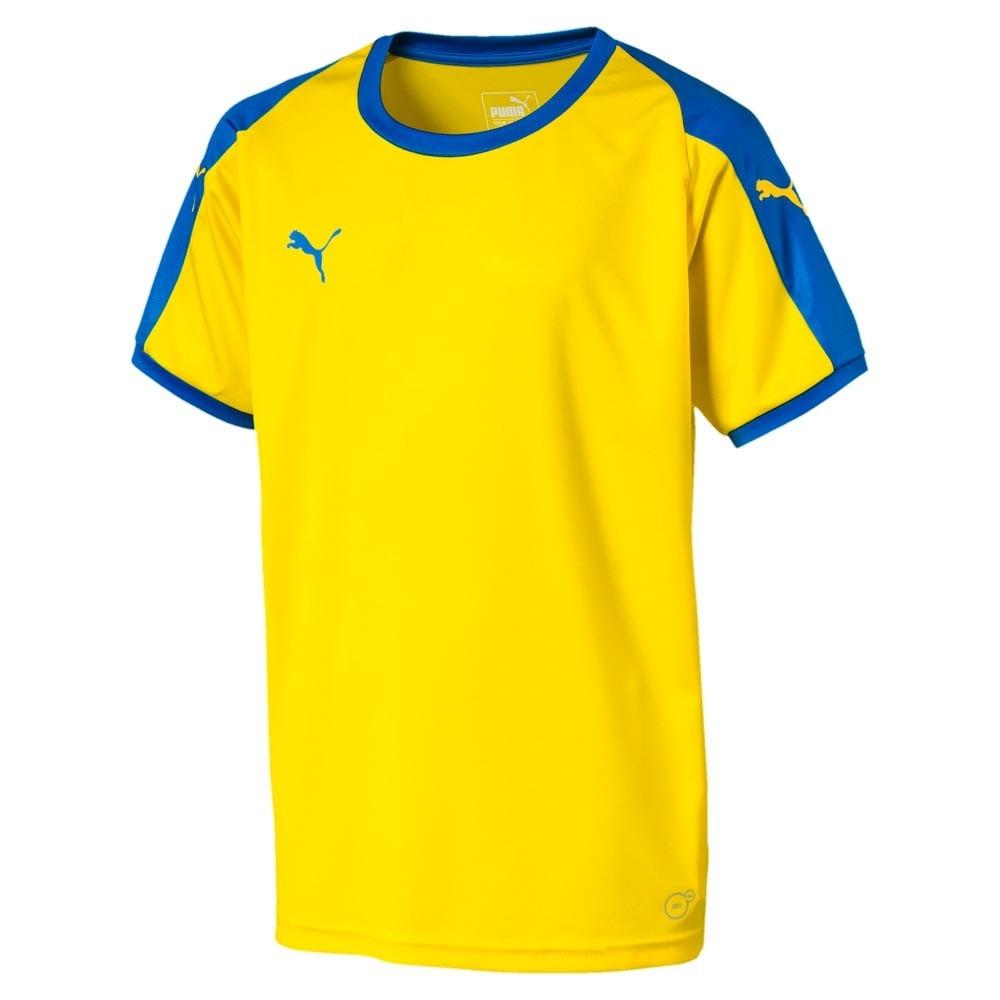 Puma Liga Fotball Kortermet Spillertrøye Barn Gul/Blå