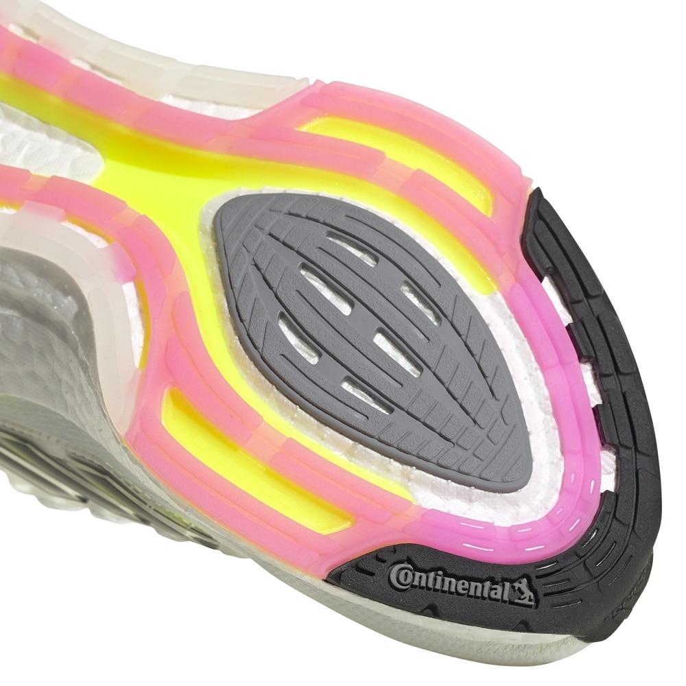 Adidas UltraBoost 21 Joggesko Dame Hvit/Gul