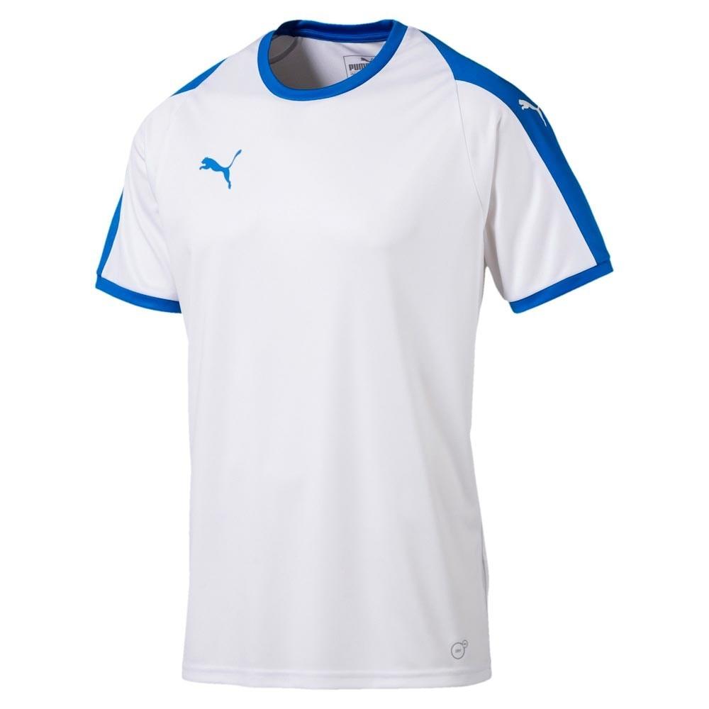 Puma Liga Fotball Kortermet Spillertrøye Hvit/Blå