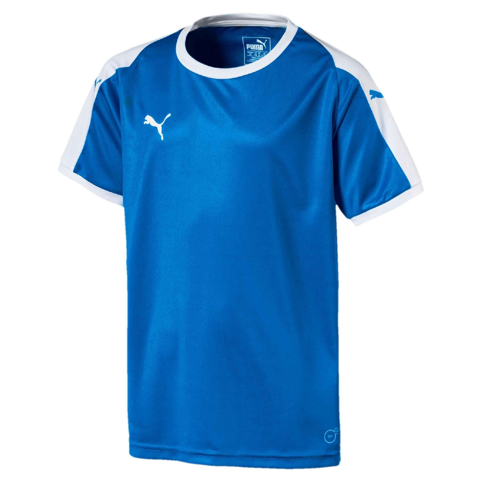 Puma Liga Fotball Kortermet Spillertrøye Barn Blå