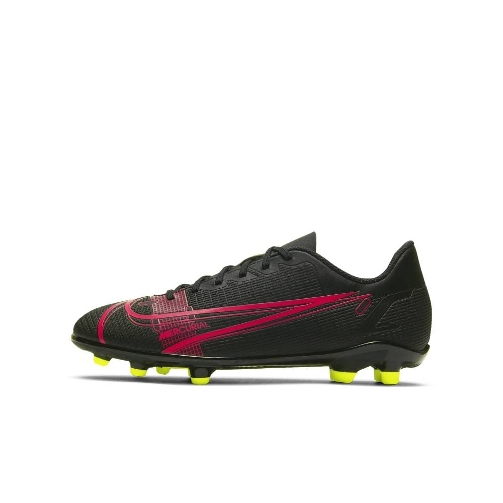 Nike Mercurial Vapor 14 Club FG/MG Fotballsko Barn Black x Prism Pack