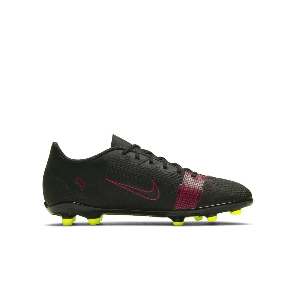 Nike Mercurial Vapor 14 Club FG/MG Fotballsko Barn Black x Prism Pack