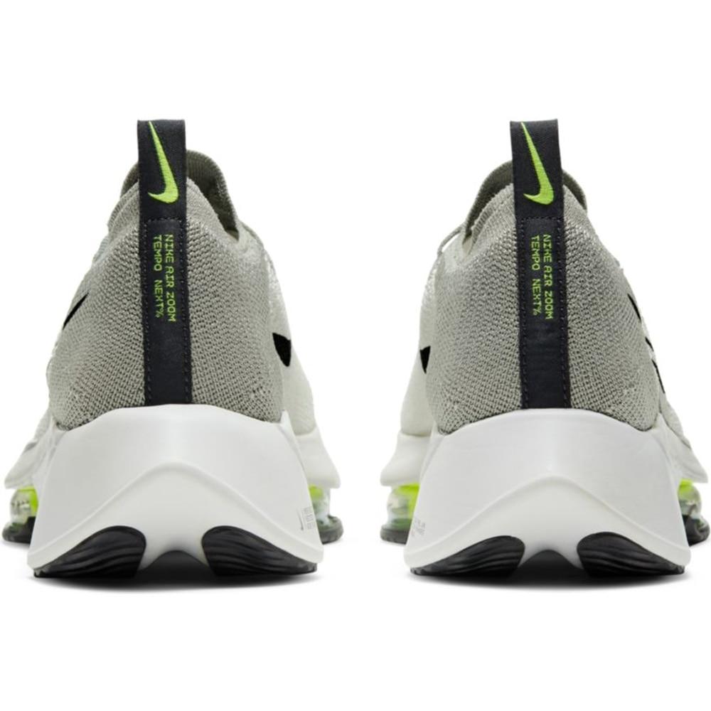 Nike Air Zoom Tempo Next% Flyknit Joggesko Herre Grønn/Grå
