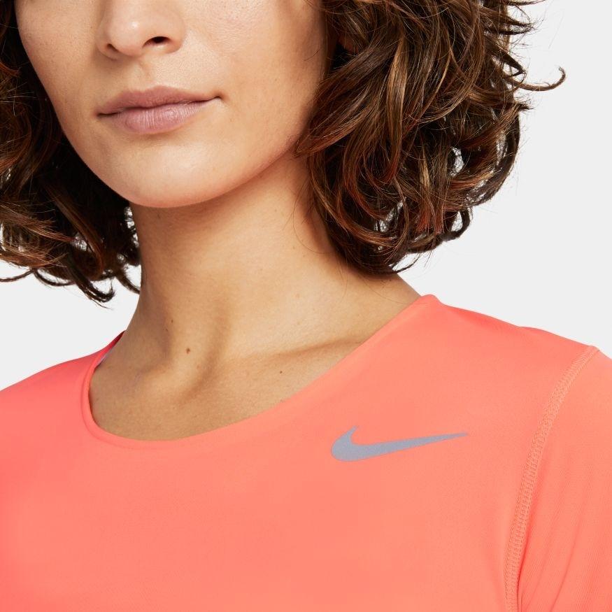 Nike City Sleek Langermet Løpetrøye Dame Mango