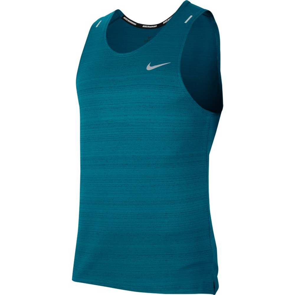 Nike Miler Løpesinglet Herre Turkis