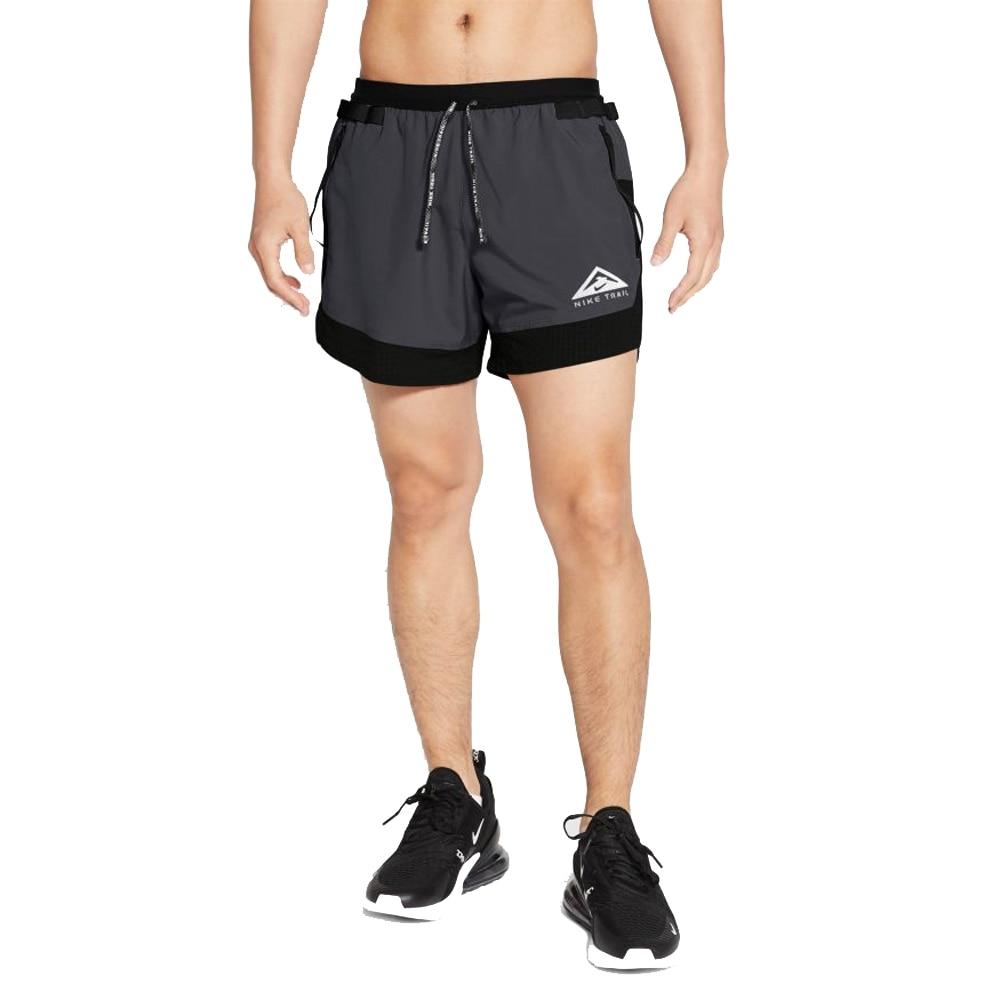 Nike Flex 5' Løpeshorts Trail Herre Sort