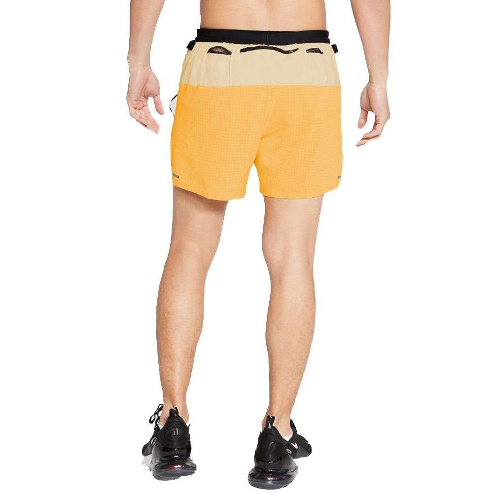 Nike Flex 5' Løpeshorts Trail Herre Gul